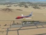 egyptian plane over sherm el sheikh airport