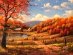 Countryside in Fall