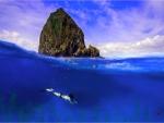 Recreo en el mar