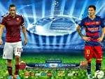 AS ROMA - FC BARCELONA CHAMPIONS LEAGUE 2015