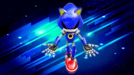 Behold Metal Sonic Sonic Video Games Background