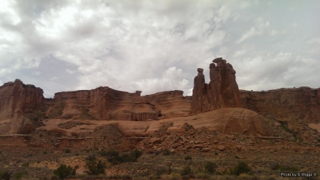 Moab, Utah - Canyons, Utah, Nature, Mountains, Clouds, Moab