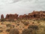 Herd of Elephants, Double Arch, Moab, Utah