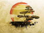 Bonsai Island Tree