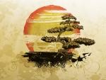 Bonsai Island Tree