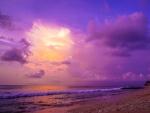 Sunset on Dreamland Beach