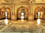 akbars royal bathing chamber near agra india hdr