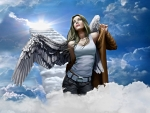 *Angel on a mission*
