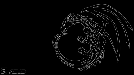 AMD Dragon Wallpaper 1080p - game, black, PC, abstract, ATI, Dragon, Desktop, AMD, dark, Radeon, 1080p, ASUS