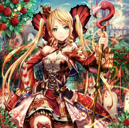 Queen Of Hearts Other Anime Background Wallpapers On Desktop