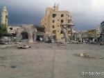 War Destruction in Aden, Yemen