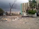 War Aftermath in Aden, Yemen