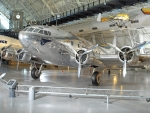 vintage boeing 307 stratoliner in museum