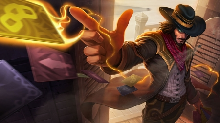 Twisted Fate - Twisted Fate League Of Legends, Twisted Fate, LOL, League Of Legends