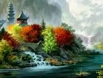 Oriental Autumn F