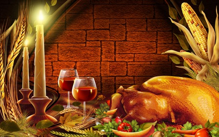 Thanksgiving Dinner - dinner, thanksgiving, holidays, occasions, people