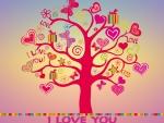 I love you tree