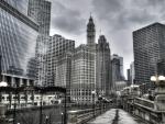 chicago riverwalk hdr