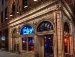 blue chicago bar hdr