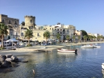 Beach at Forio D'Ischia Italy