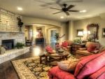 cozy livingroom with fireplace hdr