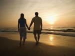 Couple at Beach Sunset