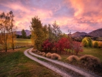 early morning near queenstown new zealand hdr