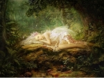Forest Fairy Lying