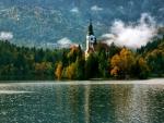 Lake Bled at Fall