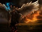 Winged God