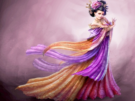 ORIENTAL BEAUTY - beauty, art, games, oriental