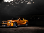 copper custom mustang shelby gt500 hdr
