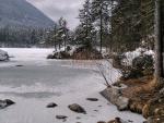 frozen river hdr