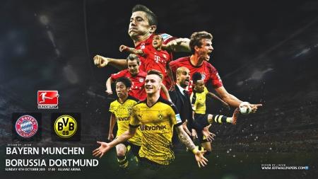Bayern Munchen Borussia Dortmund Football Sports Background Wallpapers On Desktop Nexus Image 2023701