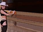 Stockyard Cowgirl