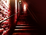 what will be at the red stairs end ?