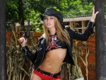 Cowgirl Veronika Fasterova ~ Armed and Dangerous