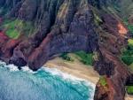 honopu beach na pali coast of kauai