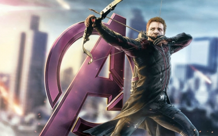 Hawkeye - celebrity, beautiful, arrow, hawkeye, entertainment, people, jeremy renner, movies, avengers, archer, clint barton, actors
