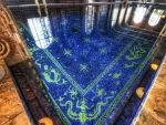 superb indoor pool in hearst castle hdr