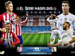 Atletico Madrid - Real Madrid Wallpaper