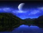 Noche en el lago