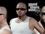 GTA 5 - Aryan Brotherhood Priosn Tattoos - Michael de santa