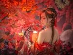 Elegant  Asaian Girl