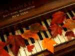 ✿⊱•╮Autumn Piano╭•⊰✿