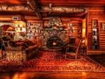 cozy inn lobby hdr