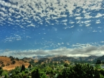 looking towards mount diablo california hdr