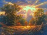 Rural Light of Autumn