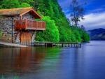 House at the lake