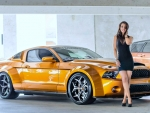 Mustang Supersnake and Model